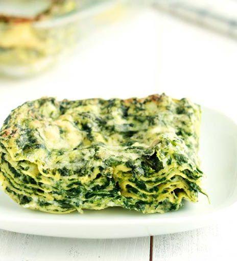 Ricetta Omelette Ricotta E Spinaci.Lasagne Ricotta E Spinaci La Ricetta Perfetta E Facilissima