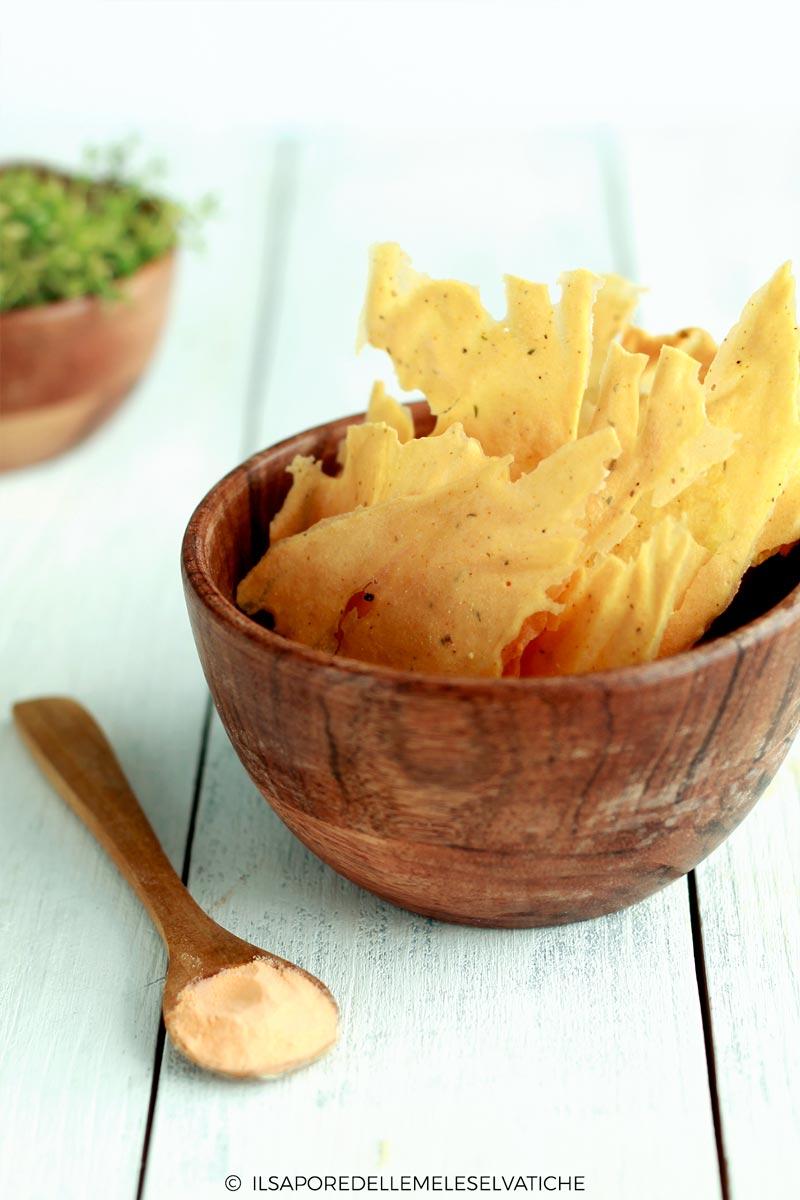 Chips Croccanti Di Lenticchie Rosse Scopri La Ricetta