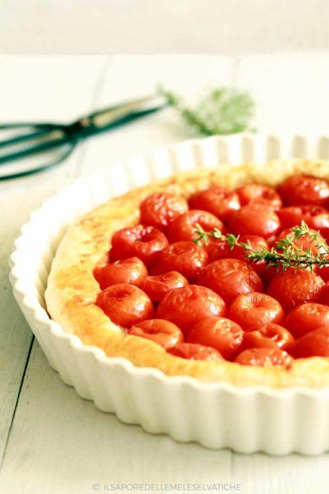 tarte tatin di pomodorini confit