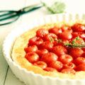 Cherry Tomatoes Tarte Tatin