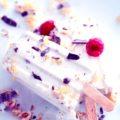gelato al mascarpone e lamponi