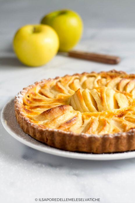 crostata di mele della normandia